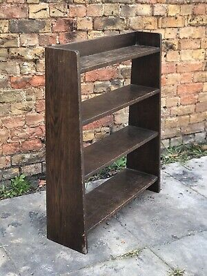Art Deco Oak Bookshelves