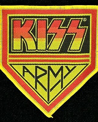 Kiss - Army Badge Patch - rock band merch