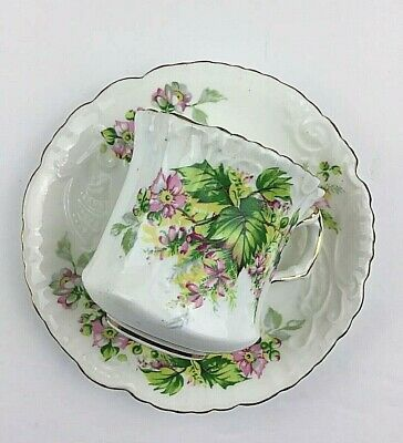Hammersley Fine Bone China Tea Cup And Saucer Set From England #5298 Mint ******