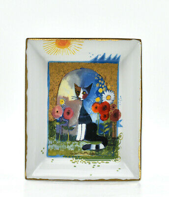 Rosina Wachtmeister vide-poche chat porcelaine Autriche Italie Goebel
