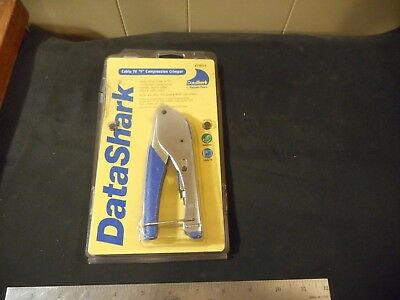 "DataSharkCable TV ""F"" compression crimper coax #70014"