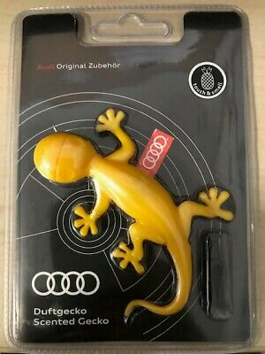 Audi Genuine Yellow Gecko Air Freshener-Tropical fruits scent