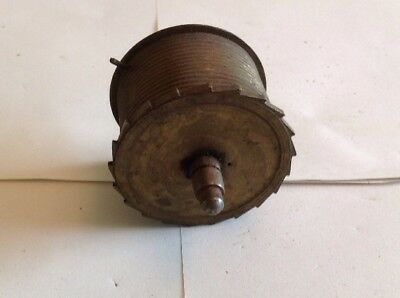 Antique LongCase Grandfather Clock Drive Wheel Cog Weight Driven 57mm