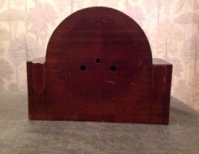 Antique Mantle Clock Case 27x21.5x11cm