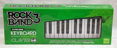 NEW Rock Band 3 Wireless KEYBOARD for Xbox 360 (Game NOT Included) xb360 rb3