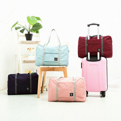 Foldable Large Duffel Bag Luggage Storage Bag Waterproof Travel Pouch Tote Bag U