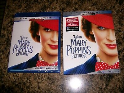 Mary Poppins Returns (Blu-ray combo Pack, 2019) Disney