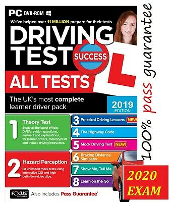 2019 Latest Driving Theory Test Success All Tests Hazard Perception,PC Rom;n*atp