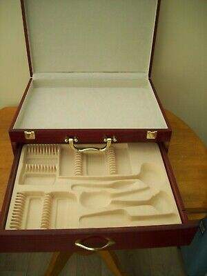 Canteen Of Cutlery Empty Box Big With Drawer
