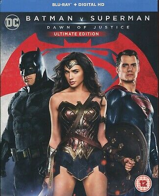 Batman V Superman Ultimate Edition Dc Dawn Of Justice Blu Ray In Great Condition