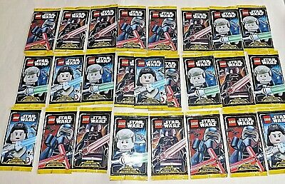 LEGO Star Wars Serie 1 Trading Card Collection  25 Booster ungeöffnet