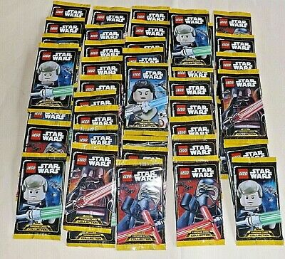 LEGO Star Wars Serie 1 Trading Card Collection 50 Booster ungeöffnet