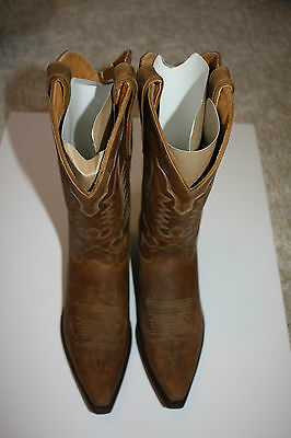 Western Cowboy Boots - Crazy Horse Leather