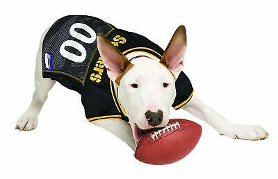 73daeac2f08 Pittsburgh Steelers NFL Little Earth V-Neck Pet Mesh Dog Jersey Sizes XS