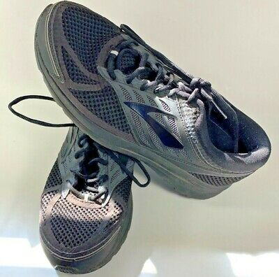 642be1f99d2 Brooks Addiction Walker Mens Size 11 Extra Wide 4E Walking Shoes Black  Athletic