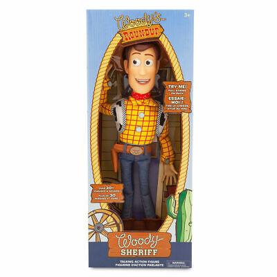 DISNEY TOY STORY Woody Talking Action Figure 35cm *NEW* 30 Phrases