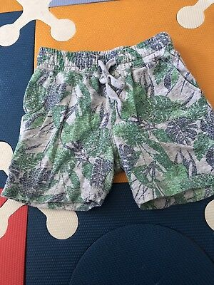 Seed Boys Print Pull-on Terry Shorts Size 4-5