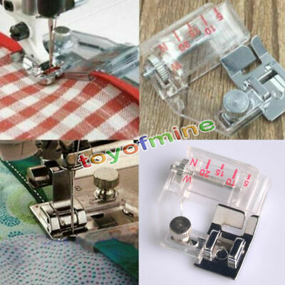 Adjustable Bias Tape Presser Binding Foot For Brother Janome Sewing Machine