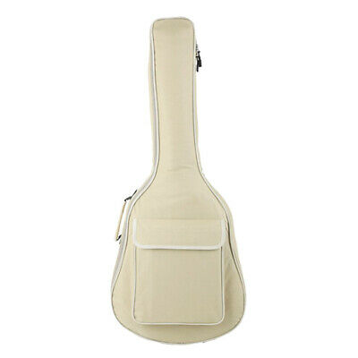 MagiDeal Beige Soft Case Bag Cover for 40/41inch Wooden Acoustic Guitar