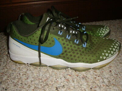 b2a50f5b2 Mens Nike Zoom Hypercross TR2 Training Shoes 749362 331 Size 12 Army Green  Blue