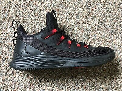 ad165ee5919 Men's Air Jordan Ultra Fly 2 Low Shoes Black/Infrared 23 AH8110 023 Size 11