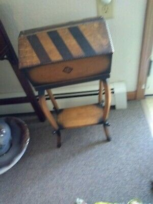 Antique arts and crafts furniture Sewing Stand