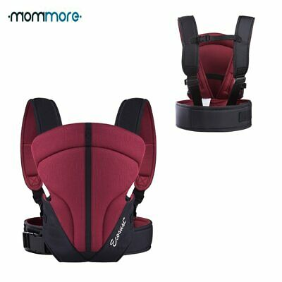 mommore Breathable Front Back Baby Carrier for 3-14Months Infant Baby Sling
