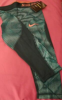 Nike Pro Girls Hypercool Dri-Fit Training Capri Legging. Sz S