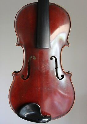 """A VERY NICE OLD FRENCH VIOLIN Labelled """"Nicolas Duchene"""" !!!"""