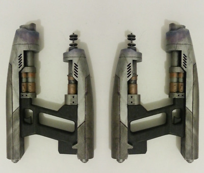 2 x Star Lord Elemental gun Guardians of the Galaxy pistola Cosplay stampato 3D