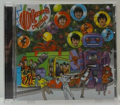 Monkees Christmas Party.Monkees Christmas Party Cd 2018 Davy Jones Mike Nesmith