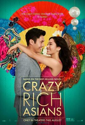 Crazy Rich Asians (DVD) Free Shipping