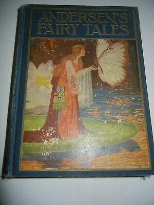 ANDERSEN'S FAIRY TALES 1928 edition Rand McNally's WINDERMERE Classic Series