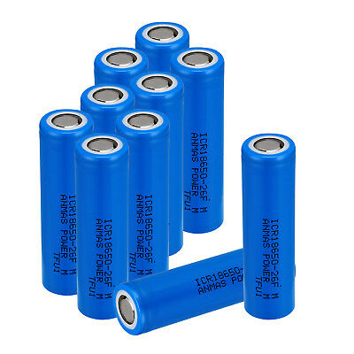 20 x ICR 18650 2600mAH Li-ion Lithium Rechargeable Battery Batteries US Delivery