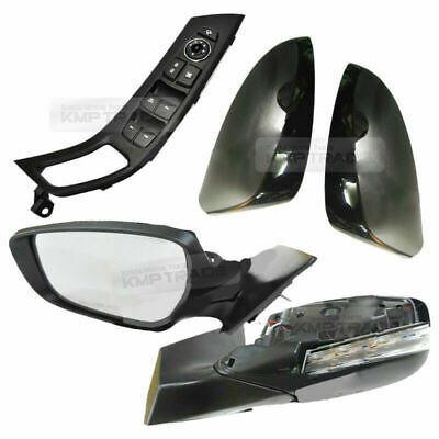 Right Genuine Hyundai 87610-2D005 Rear View Mirror Assembly Exterior