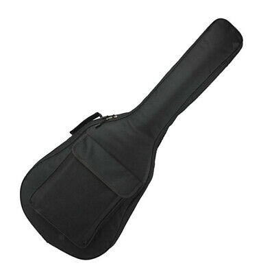 40''41'' Wooden Acoustic Guitar Carrying Padded Case Bag Cover Black