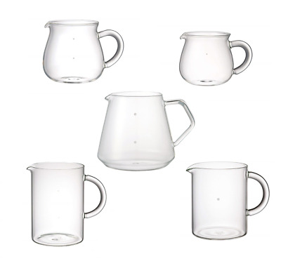 Kinto Simple Design Coffee Drip Pour Over Server Select Heat-Resistant Glass