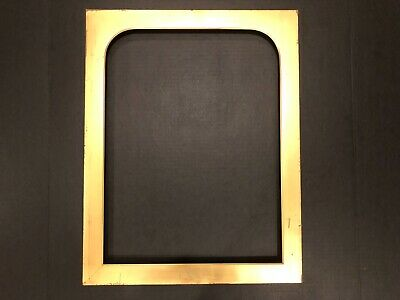 Antique 18x14 c 1880s Gold Gilt Gilded Victorian Aesthetic Picture Frame 19b