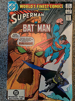 DC World's Finest Superman and Batman No. 291 dated 1983