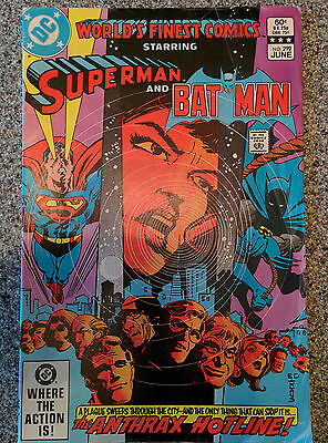 DC World's Finest Superman and Batman No. 292 dated 1983