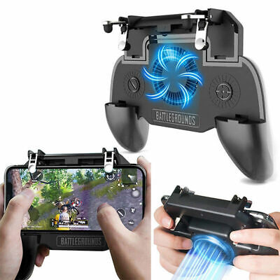For PUBG Mobile iOS Android Controller Gamepad with Cooling Fan Gaming Trigger