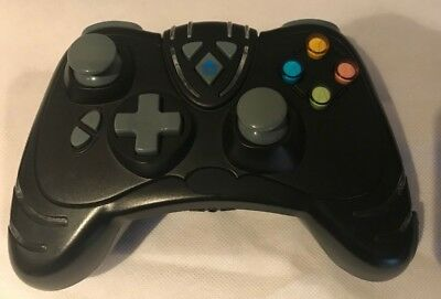 Black Unofficial Xbox 360 Wireless Controller