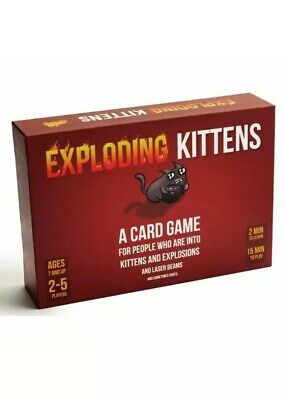 Exploding Kittens Family Party Game About Kittens Explosions & Sometimes Goats