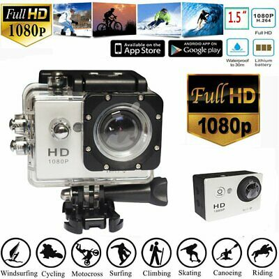 Action Sports Cam WIFI 4K Camera 12MP Helmkamera H.264 WIFI Helm Kamera 170 °