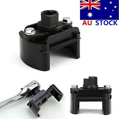 Auto Tool Oil Filter Wrench Cup 1/2'' Housing Spanner Remover 60-80mm Universal