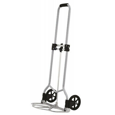 Rolson 45KG Folding Hand Truck Light Weight PP Wheels Sponge Grip Aluminium Toe