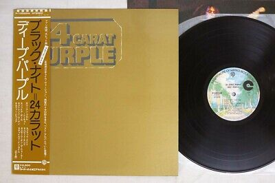 DEEP PURPLE 24 CARAT PURPLE WARNER P-10029W Japan OBI VINYL LP