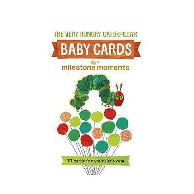 Very Hungry Caterpillar Baby Cards for Milestone Moments by Eric Carle (author)