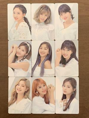 """Full Set of 9 - TWICE JAPAN ALBUM """"BDZ - Repackage -"""" : Official PhotoCard"""