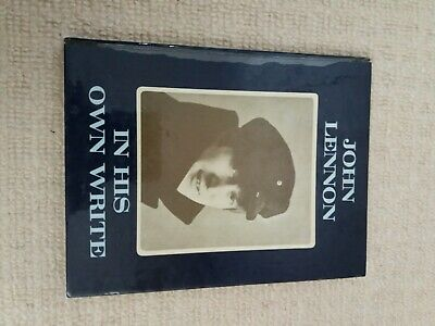 """Book by John Lennon """" In His Own Write """"  1964 april"""